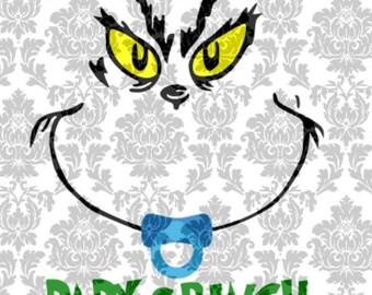 Baby Grinch SVG File