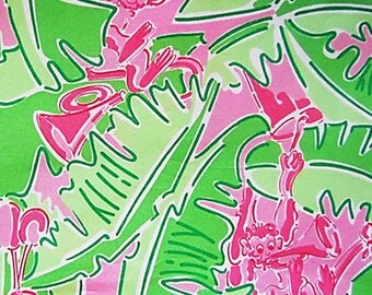 MUSICAL MONKEYS Lilly Pulitzer Cotton Poplin Fabric | Assorted Sizes