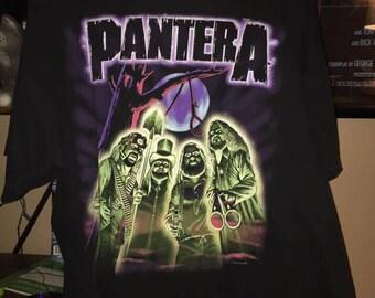 Pantera 2000 official tour shirt