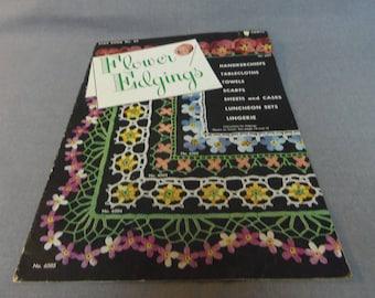 Crochet Patterns, Flower Edgings, Star Book No 65, Handkerchiefs, Tablecloths, Linen, Sets, Lingerie, 1949
