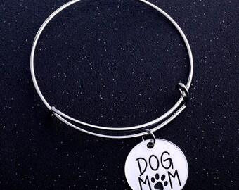 Dog Mom Paw Bracelet
