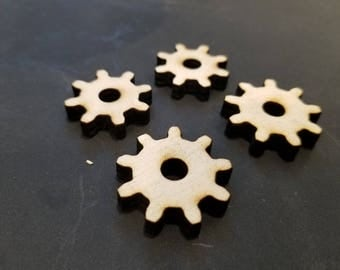 Wooden Gear 8 tooth and 9 tooth 8t 9t