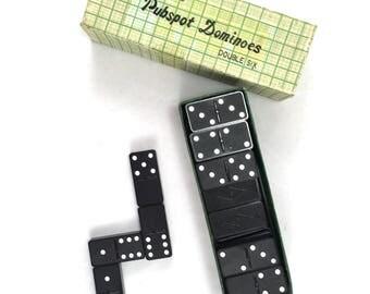 Set of vintage Pubspot dominoes