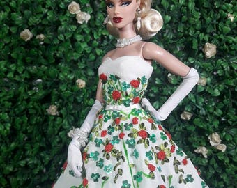 Le Jardin De Rose - Fashion for Fr2, Barbie and same size doll