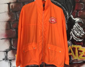 Vintage Chaps Ralph Lauren Raincoat Light Jacket