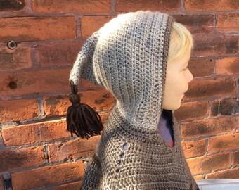Child Hooded Poncho