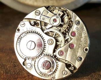 BREGUET Vintage Watch Movement Cufflinks