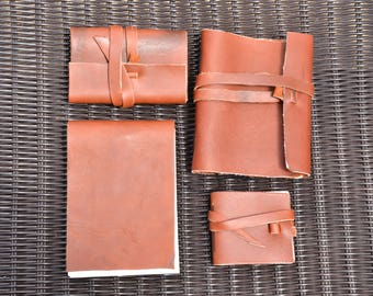 Handmade Leather Notebooks