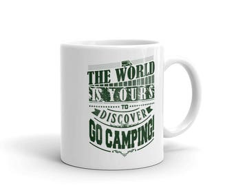 Camping mug,camping gifts,Tea mug,coffee mug,drinking mug,11oz mug,15oz mug,bbq mug,fathers day gifts,camping life,Go Camping mug