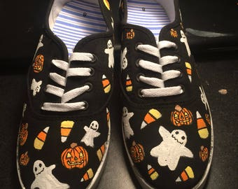 Halloween Pattern Shoes