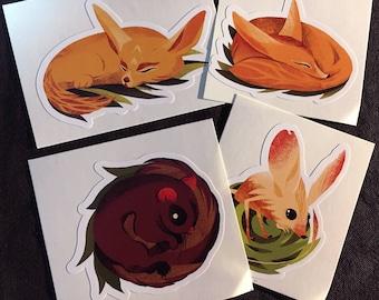 Sticker Pack - Too Cute