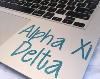 Alpha Xi Delta Decal
