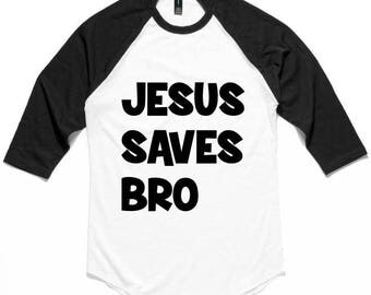 Jesus Saves Bro Etsy