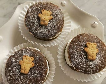 SUGAR FREE Gingerbread Whoopie Pies
