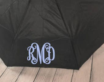 Personalized Monogram Purse/Backpack Umbrella