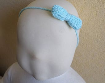 Green bow headband of water hair accessory
