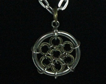 Mobius Dreamcatcher Chainmaille Necklace