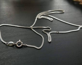 Sterling Silver Chain - 18 Inch