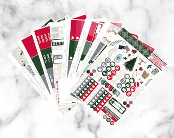Home for the Holidays // Epic Weekly Planner Kit (250+ Planner Stickers)