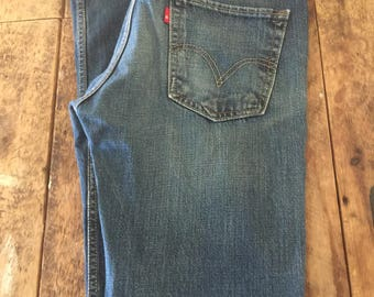ON SALE Mens Levi's 511 32 x 36  Skinny Fit Jeans Red Tab Med wash/blue jeans/Levis jeans/ skinny jeans