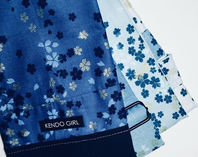 Featured listing image: Navy Sunset Kimono Sakura Sword Bag