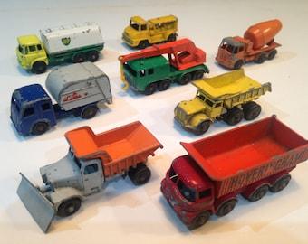 VINTAGE MATCHBOX LESNEY Trucks and Lorrys