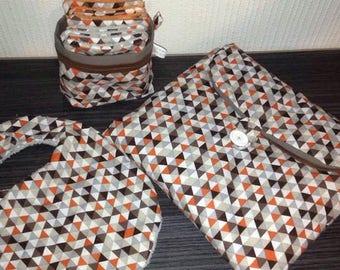 Scandinavian style baby gift box