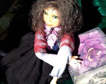 Collectible doll Karina