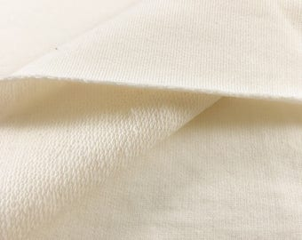 100% Organic Cotton French Terry fabric