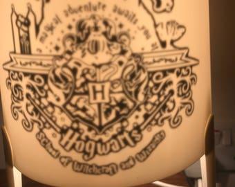 Inspired hogwarts Harry Potter lamp light