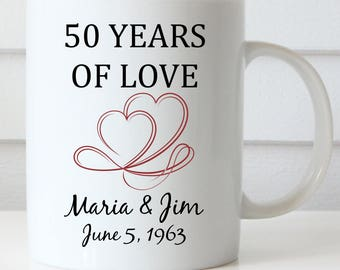 Anniversary Gift, Wedding Anniversary, Anniversary Coffee Mug, Love Coffee Mug, Sweetest Day