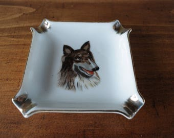 Collie Ashtray/ Catch-All