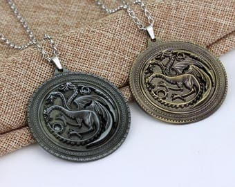 Game of Throne Pendants & Necklaces Glow
