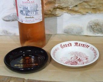 French Cognac ashtray // Comandon // Grand Marnier