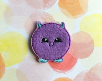 Halloween Felties, Purple Monster