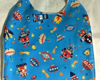 Kindergarten/Maternity bib in cotton with sponge GOTS
