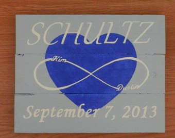 Personalized Wedding Sign, Pallet Sign, Wall Decor