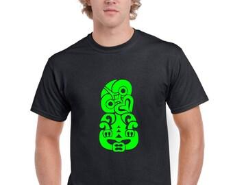 Hei Tiki Maori Design T Shirt by Ameiva Apparel