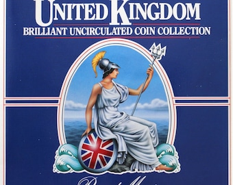 1984 Brilliant Uncirculated Coin Year Set Collection - Royal Mint