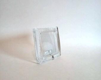 Mikasa Polished Portraits Single Square Photo Frame   Crystal Photo Frame