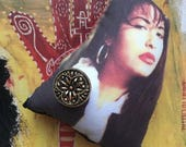 Selena Quintanilla Puffy Pin