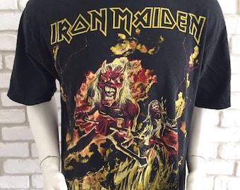 1985 Iron Maiden vintage extremely rare tshirt