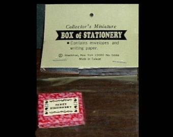 Miniature BOX STATIONARY (Shackman)