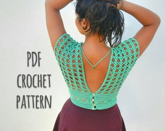 Trevi Top Crochet Pattern