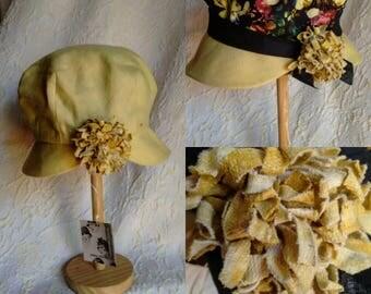 Cotton hat. Reversible