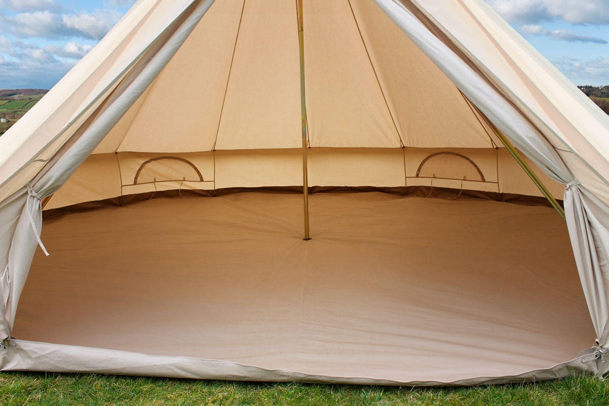 Bell tent luxury in XXL!!! The mansion of Bell Tents 6 meter round Double wall deluxe with double weave canvas & Bell tent luxury in XXL!!! The mansion of Bell Tents 6 meter round ...
