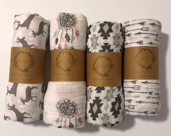 Oversized Swaddling Blanket, Swaddling Blanket, Gauze Swaddle, Swaddle, Double Gauze, Carseat Canopy, Oversize Swaddle, eztra Large Swaddler