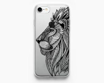 iPhone 7 Case Lion iPhone 6 Case iPhone 7 Plus Case iPhone 6 Plus Case iPhone 6s Case iPhone 5s Case iPhone 6s Plus Case Animal Transparent