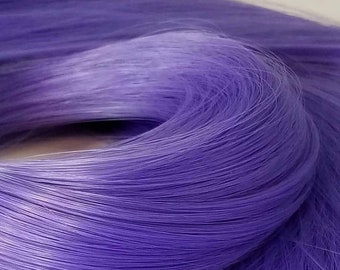 Etsy Celebration Sale Psylocke Dark Lilac Purple Nylon Doll Hair Hank for Rerooting Barbie® Monster High® Ever After High® My Little Pony Fa
