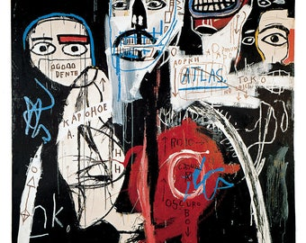 Jean-Michel Basquiat In the Cypher, 1982